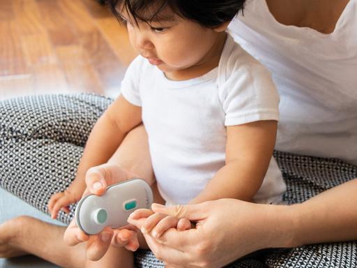 Limador de uñas eléctrico para bebés Trimö