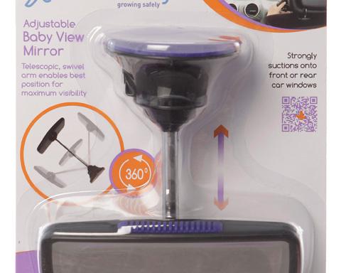 Espejo ajustable visor de bebé para auto - Dreambaby