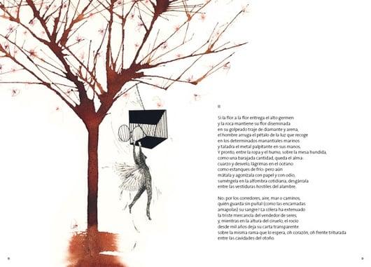 Pablo Neruda, poemas ilustrados. Alturas de Macchu Picchu.