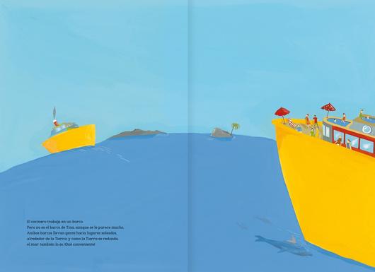 El mar es redondo