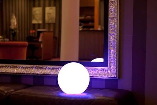 Esfera luminosa mediana