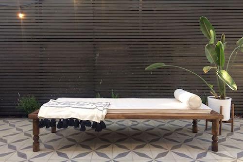 Reposera de madera modelo Bali