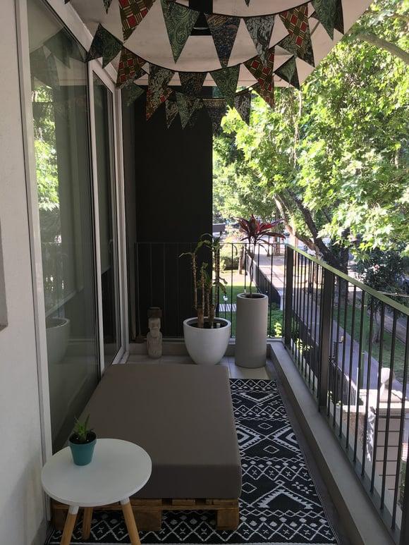 Terraza para meditar