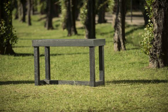 Mesa tipo arrimo en Ecotabla