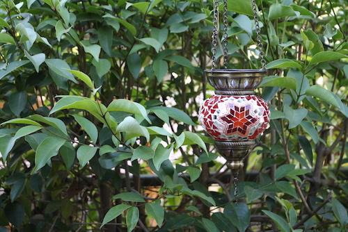 Portavela turco colgante - portavelas o lampara colgante turco1.JPG