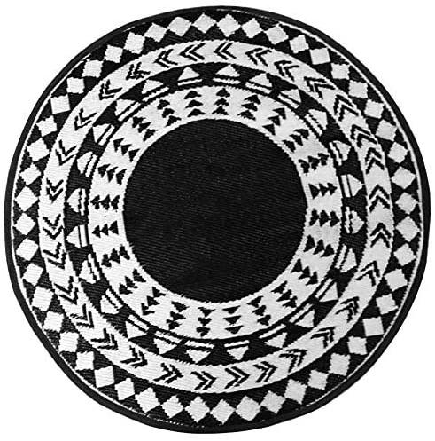 Alfombra de PET redonda Eclipse de 120 cm. de diámetro - Eclipse alfombra redonda de 120.jpg