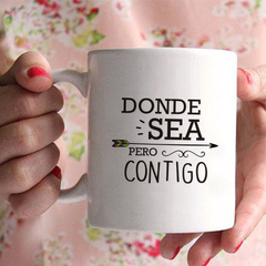 DONDE SEA PERO CONTIGO
