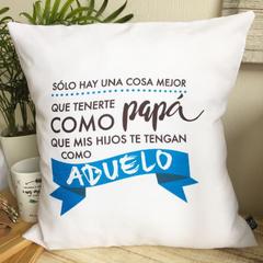 COJIN BLANCO ''SOLO HAY UNA COSA...