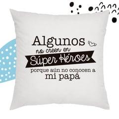 COJIN BLANCO ''ALGUNOS NO CREEN...
