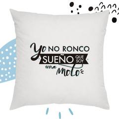 COJIN BLANCO ''YO NO RONCO...