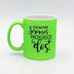 SIEMPRE SEREMOS PROFUGOS LOS DOS (v)