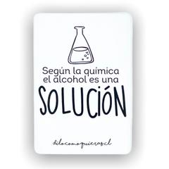 SEGUN LA QUIMICA EL ALCOHOL ES UNA SOLUCION