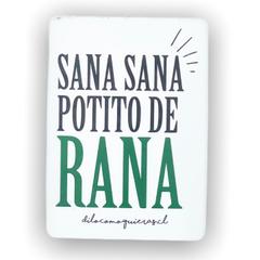 SANA SANA POTITO DE RANA