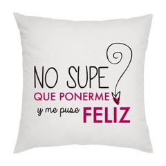 NO SUPE QUE PONERME Y ME PUSE FELIZ (R)