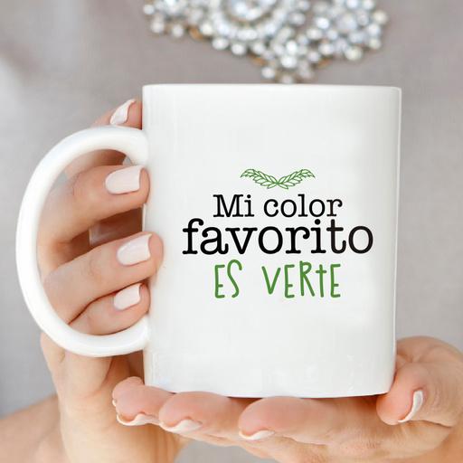 Tazón ''Mi Color Favorito Es Verte''