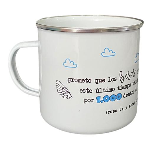 PROMETO QUE LOS BESOS (diseño nube)