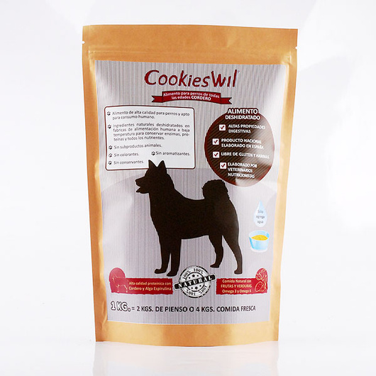 Exquisito Cordero equivale 2Kg de Pellets