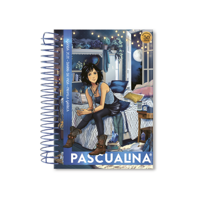 Agenda Pascualina Indie Blue 2020