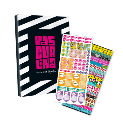 Pack Planner Pascualina+ Stickers Planner