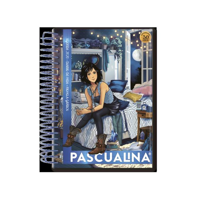 Agenda Pascualina Indie Blue 2020