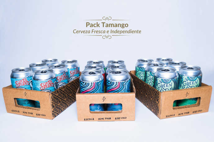 Pack Cervezas Tamango