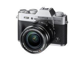 Camara Fuji X-T20 Silver KIT XF18-55mm F2.8-4 R