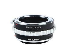 Adaptador de Lente Nikon (G) A NEX