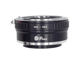Adaptador de Lente NIK a NEX II