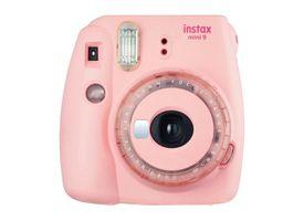 Camara Instax Mini 9 Clear Pink
