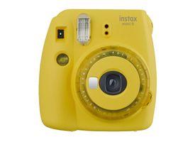 Camara Instax Mini 9 Clear Yellow