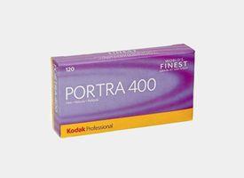 Kodak Portra 400 120 Pack 5 unds
