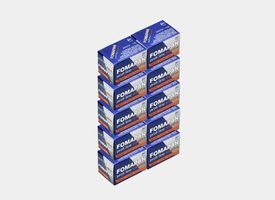 Fomapan 200 35mm 24exp Pack 10 unds