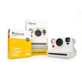 Everything Box Polaroid Now White