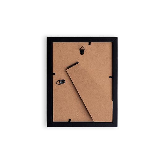 Marco Madera Paspartú 10X15 Negro (caja)