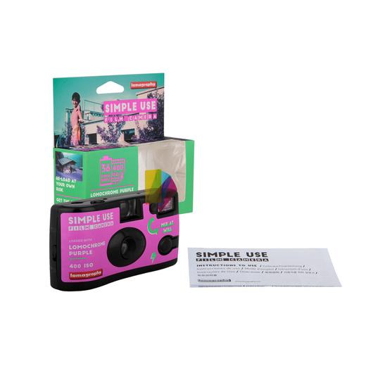 Camara Simple Use Lomochrome Purple