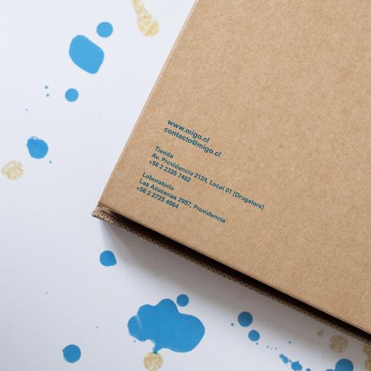 Caja Migo 20x20 (sólo caja)