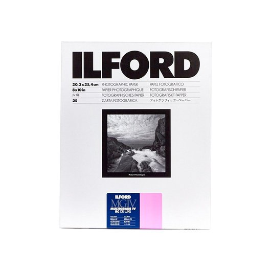 ILFORD S/25 20X25 MG RC BRILLANTE
