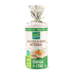 Galletas de Arroz Integral Quinoa y Chia 120g