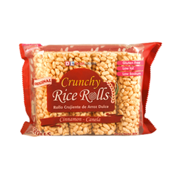 CRUNCHY RICE ROLL DULCE CANELA 80 GRS.