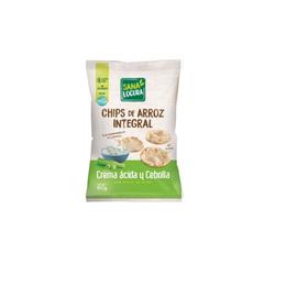 Galleta de arroz crema ácida y cebolla -60 grs
