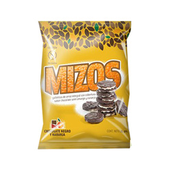 PACK 28 MIZOS-CHOCOLATE naranja-( $350 x unidad)