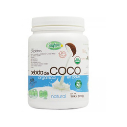 bebida de coco organica-550 grs