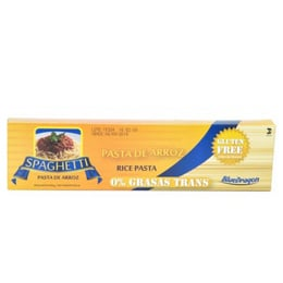 Pasta  -  SPAGHETTI DE ARROZ-BLUE DRAGON-250 grs