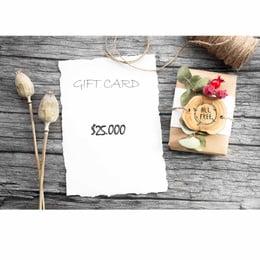 Gift Card $25.000