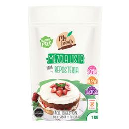 Mezcla Reposteria Sin Gluten (Myfoods)- 1 kilo