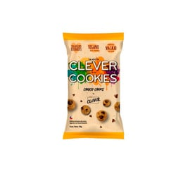 Pack 5 galletas Clever cookies Choco chips - 30 Grs