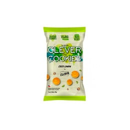 Pack 5 galletas Clever cookies Limon Coco - 30 Grs