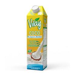 BEBIDA VEGETAL VILAY COCO SIN AZUCAR 1 LT