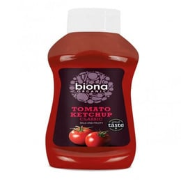 Ketchup organic squeezy 560 gramos Marca Biona