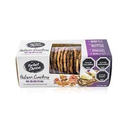 Crackers Artesanales de higo y nuez pecana